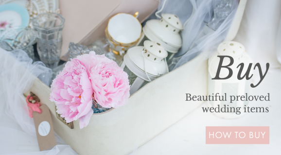 Buy Beautiful preloved wedding items