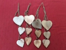 Hanging Heart Decorations