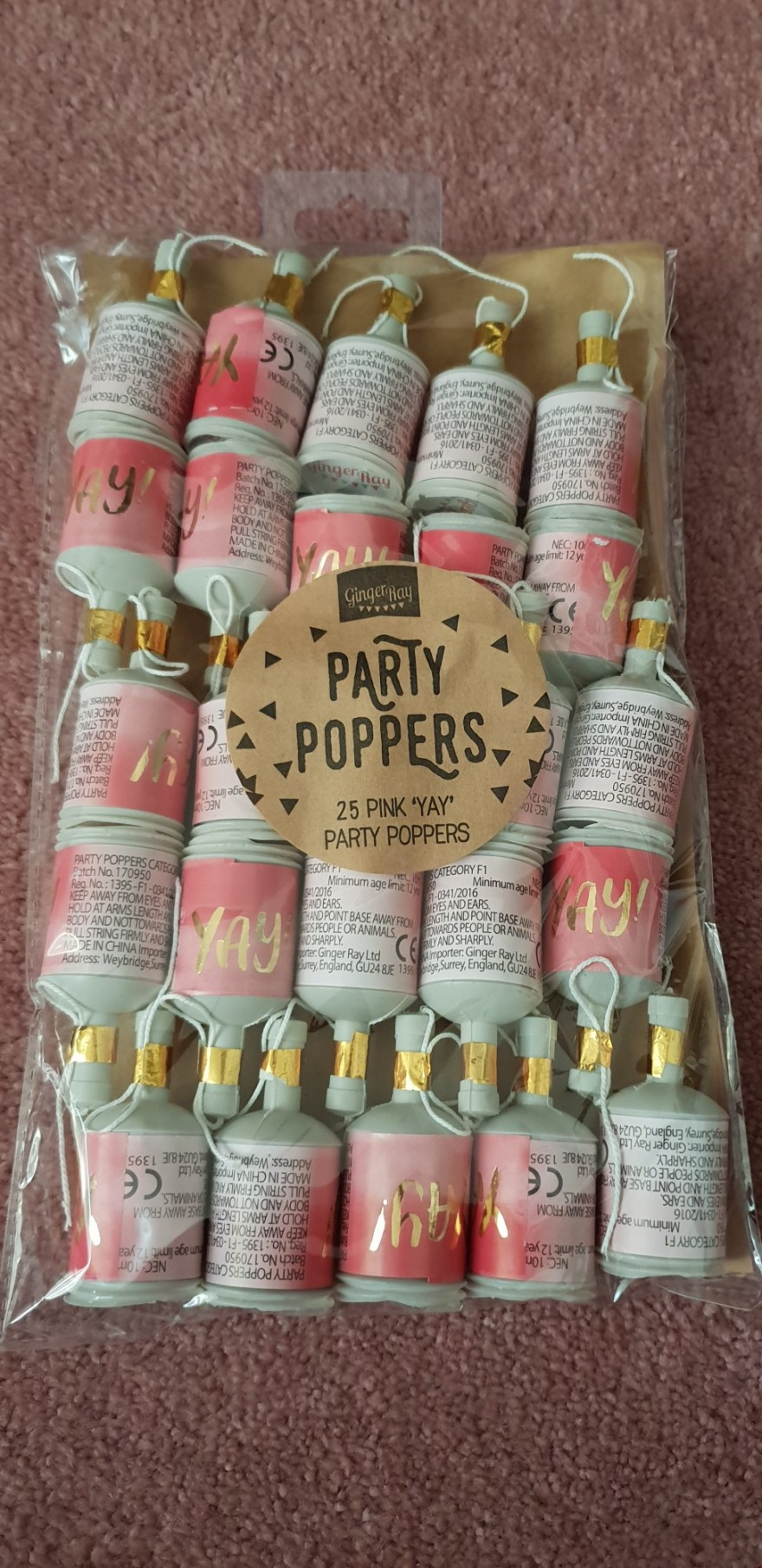 Party Poppers 1